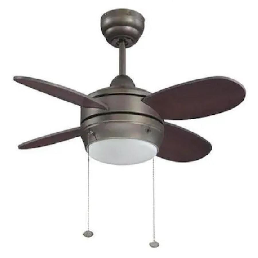 36 ceiling fan with light san marino litex maksim 36in espresso indoor ceiling fan with light kit 4blade 4