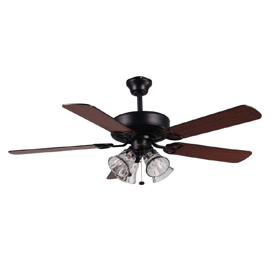 Shop harbor breeze springfield 52 in multi position ceiling fan harbor breeze springfield 52 in multi position ceiling fan with light kit aloadofball Choice Image