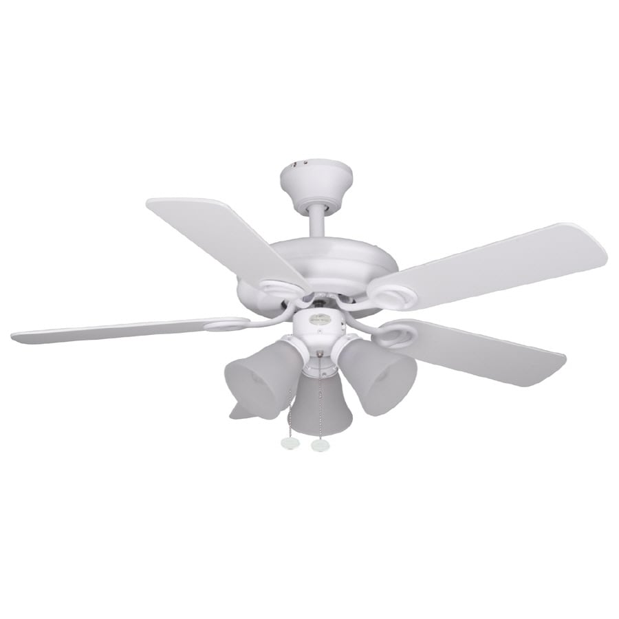 Harbor Breeze Ocracoke 42 In Multi Position Ceiling Fan With Light Kit
