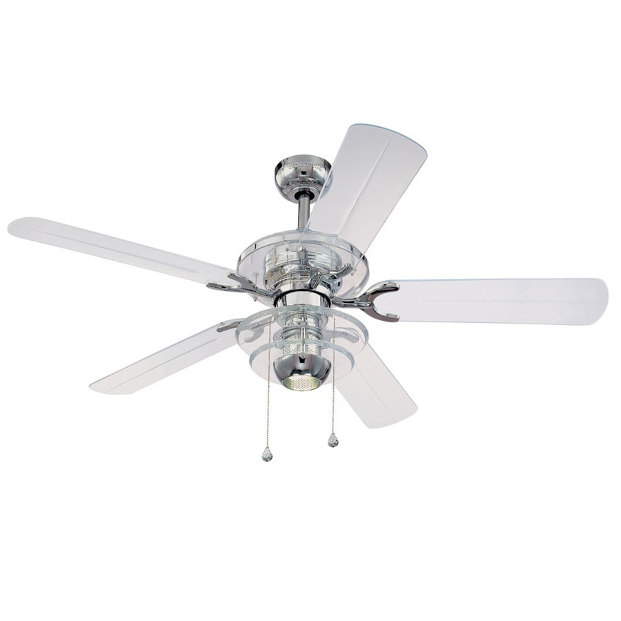 Shop harbor breeze 52 chrome ceiling fan at lowes harbor breeze 52 chrome ceiling fan mozeypictures Gallery