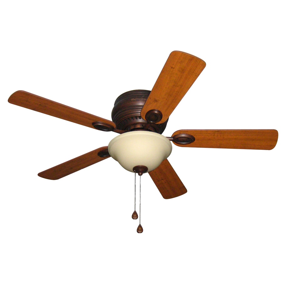 Ceiling Fan Mount : Shop harbor breeze mayfield in antique bronze indoor
