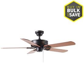 Harbor Breeze Classic 52-in Antique Bronze Indoor Ceiling Fan (5-Blade)