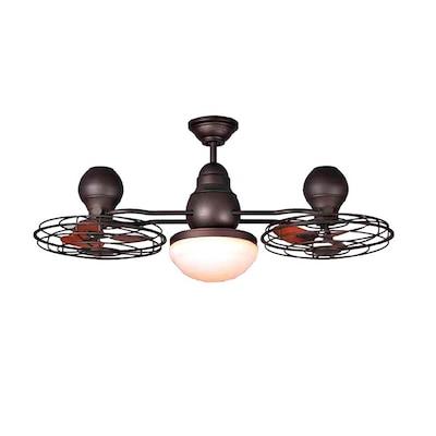 Bronze Indoor Outdoor Ceiling Fan