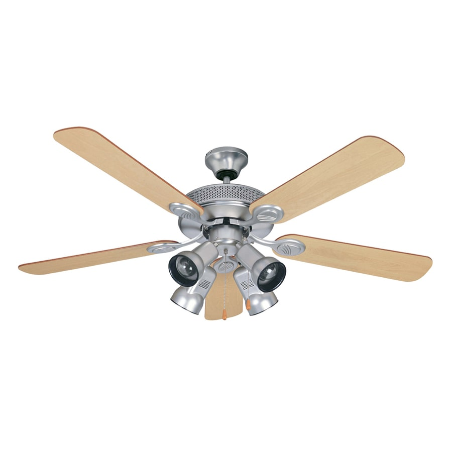 Shop Litex 52 In Spotlight Ceiling Fan Brushed Pewter At