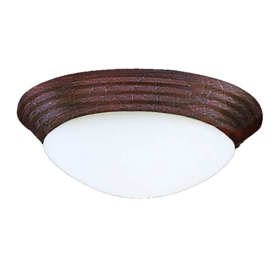 Harbor Breeze 2-Light Copperstone Ceiling Fan Light Kit with Opal Glass