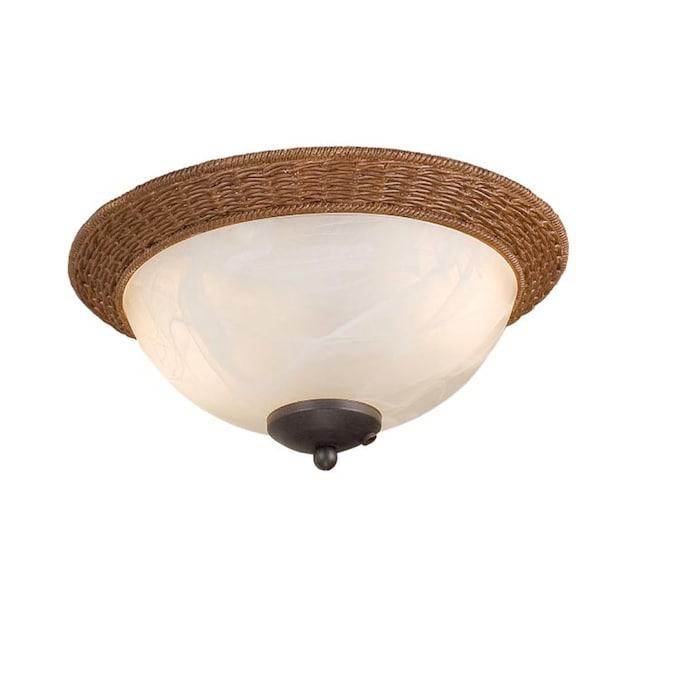 Harbor Breeze 2 Light Aged Bronze Incandescent Ceiling Fan Light Kit In The Ceiling Fan Light