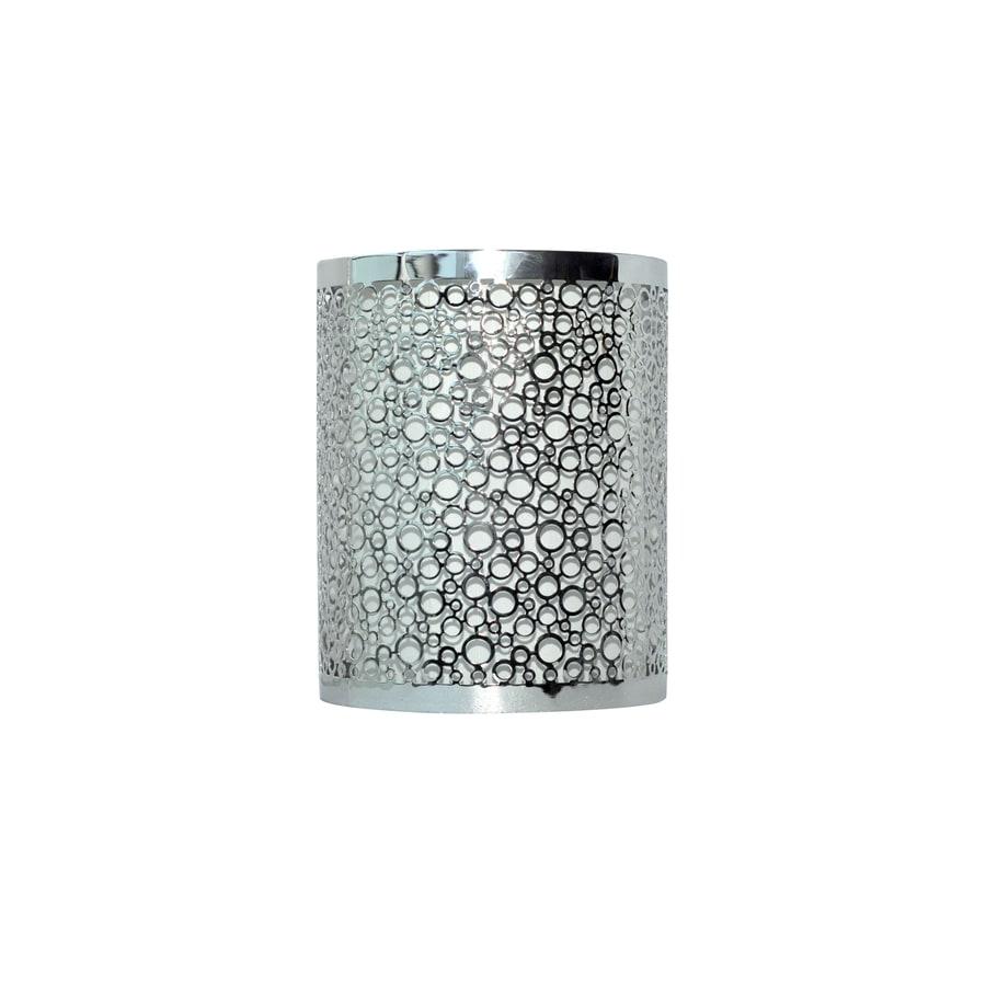 Shop Portfolio Eyerly 7 5 In H 6 In W Platinum Cylinder