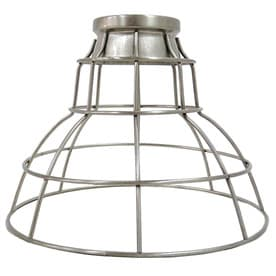 Portfolio 7 In H 9 In W Brushed Nickel Wire Industrial Cage