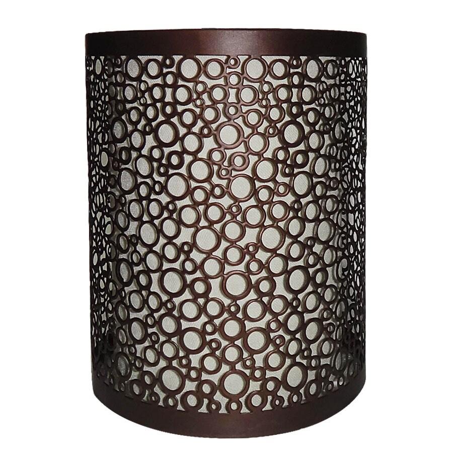 Portfolio Eyerly 9-in H 4.8-in W Bronze Cylinder Pendant Light Shade