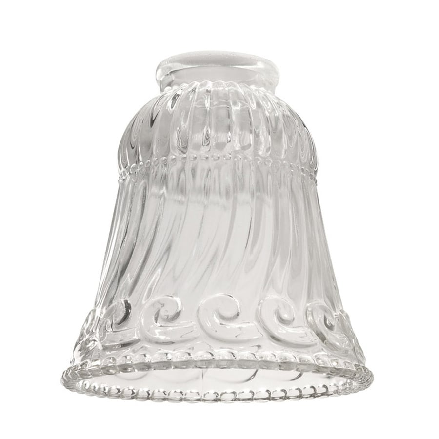 Harbor Breeze 5-in Clear Vanity Light Glass