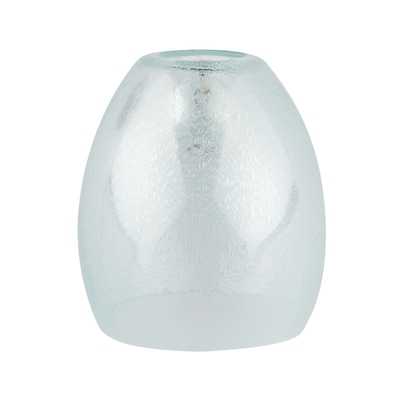 5 375 In H W Clear Seeded Gl Bell Vanity Light Shade