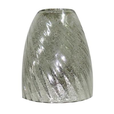 5 In H 4 75 W Mercury Gl Bell Vanity Light Shade