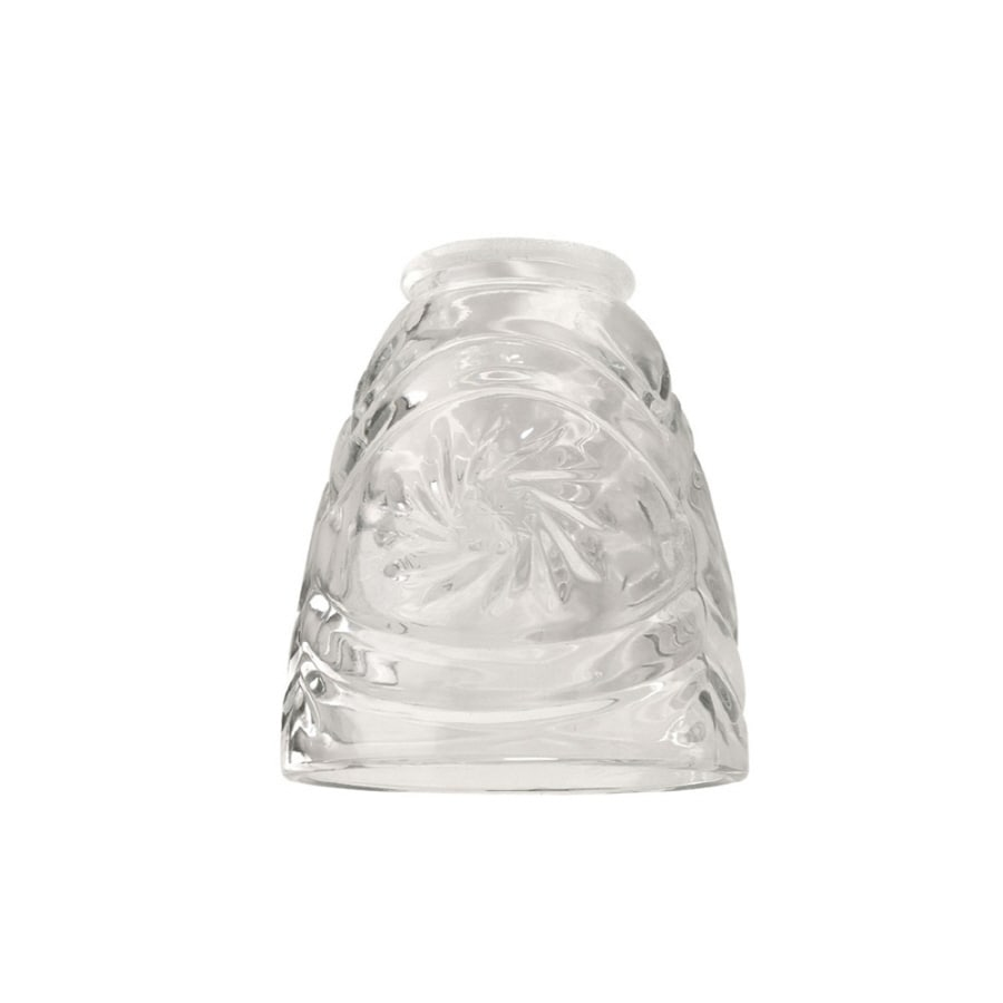 Litex 4-in H 5-in W Clear Bell Vanity Light Shade