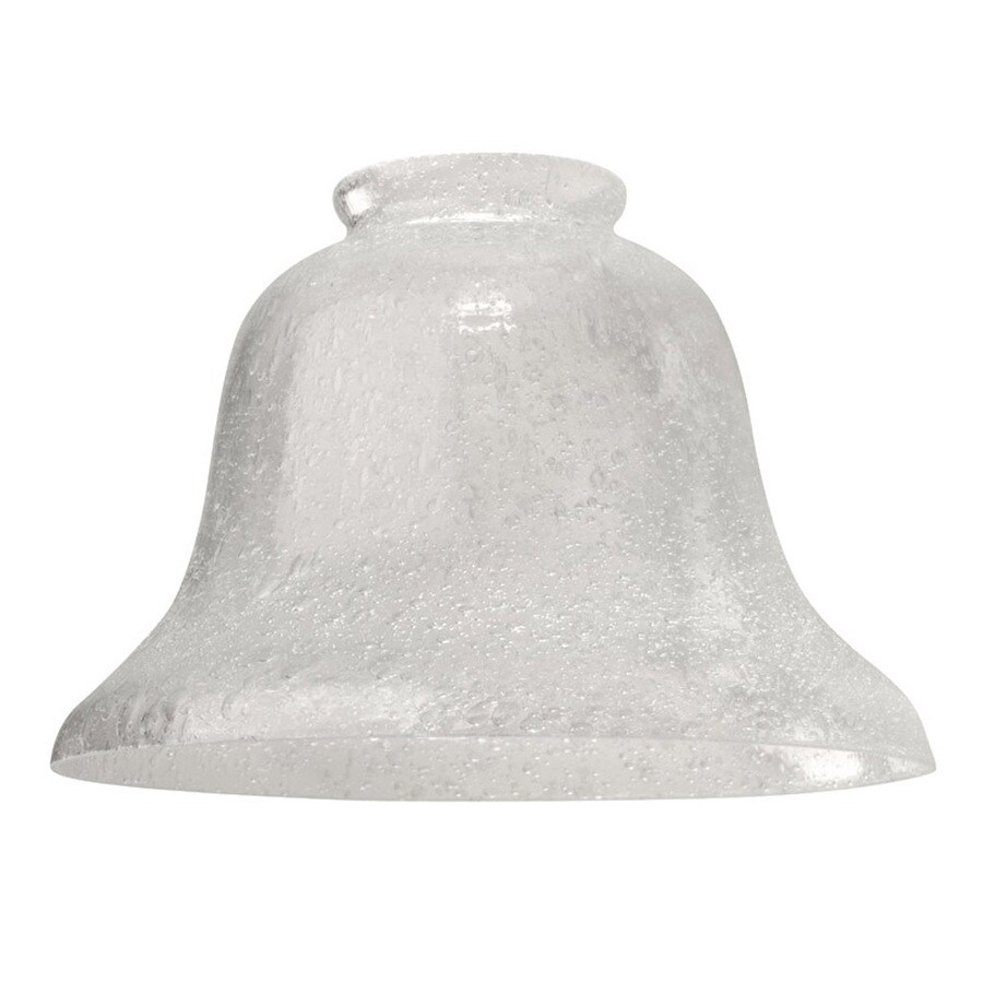 Harbor Breeze 6-in Clear Vanity Light Glass