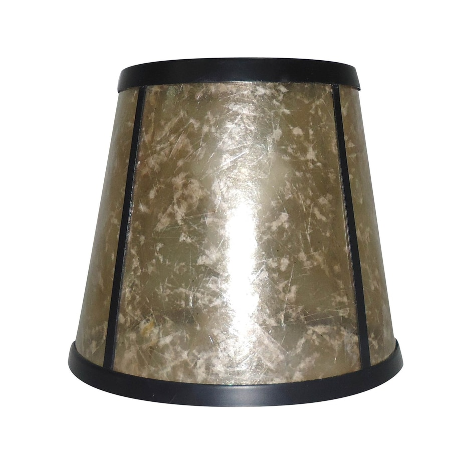 Vanity Light Shade Lowes : Shop Portfolio 5.125-in H 6.25-in W Beige Mica Drum Vanity Light Shade at Lowes.com