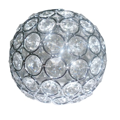 Style Selections Ladura 4 In H 4 75 In W Chrome Crystal