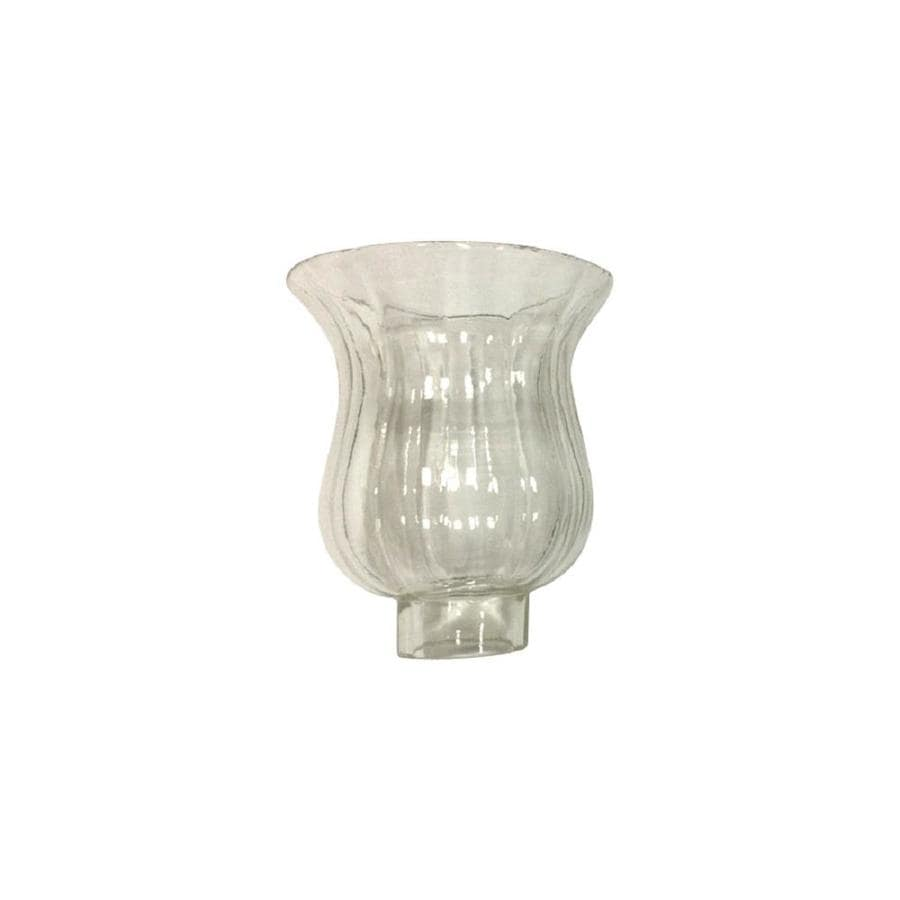 Vanity Light Shade Lowes : Shop Litex 4.25-in H 4.25-in W Clear Clear Glass Bell Vanity Light Shade at Lowes.com