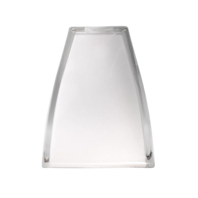 Clear Frost Square Pendant Light Shade