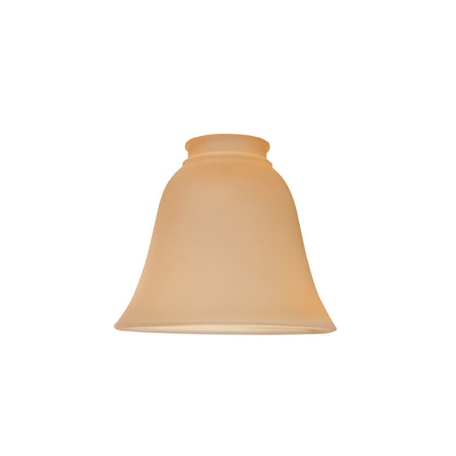 Litex 5-3/8-in Amber Vanity Light Shade