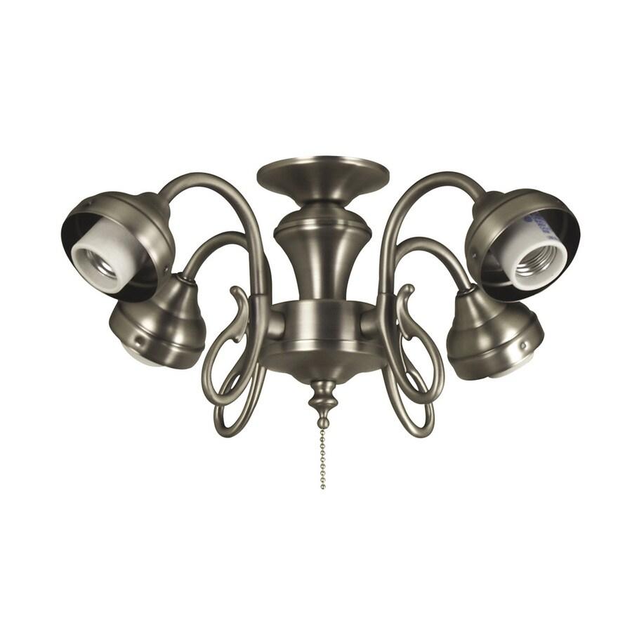 Harbor Breeze 4-Light Antique Nickel Ceiling Fan Light Kit