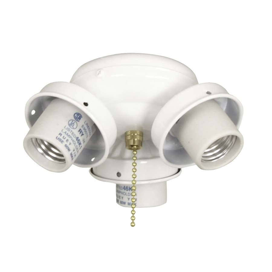 Ceiling Fan Light Bulbs Candelabra Base : Litex light white a candelabra base ceiling fan