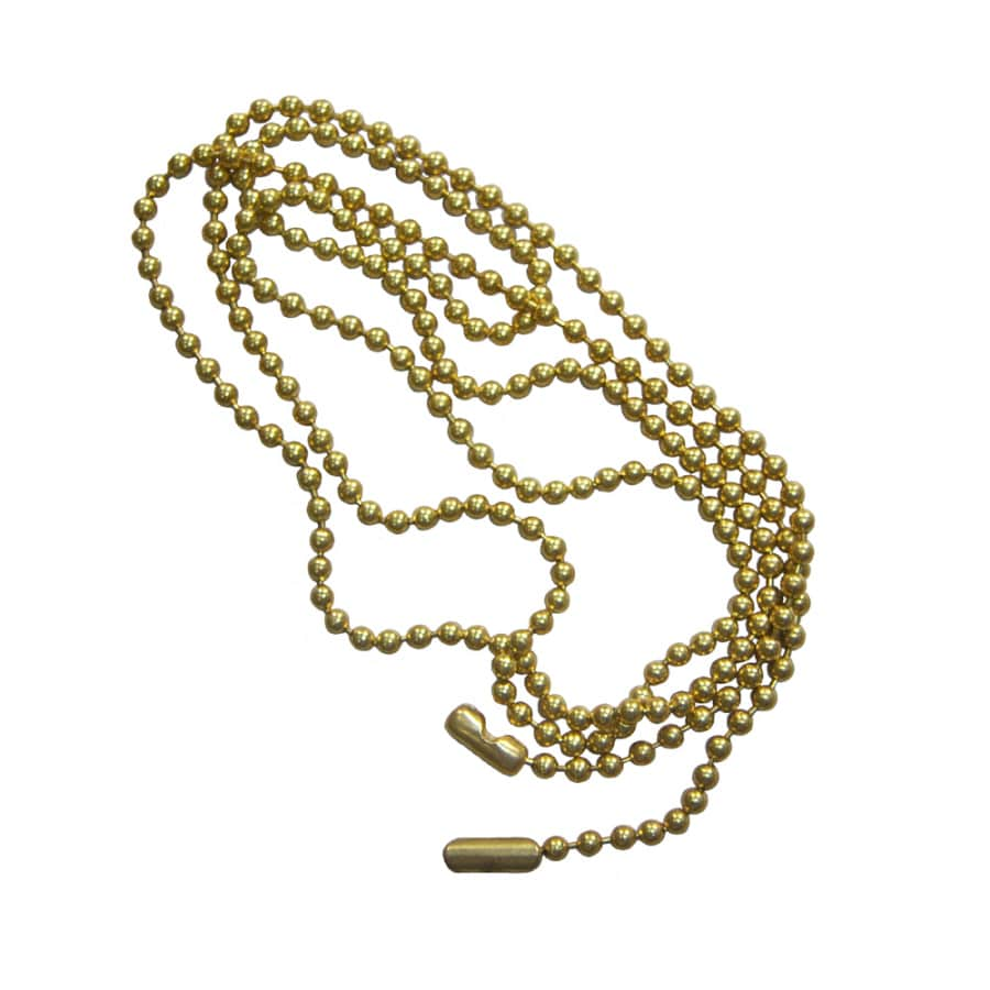 Harbor Breeze 6' Beaded Brass Pull Chain