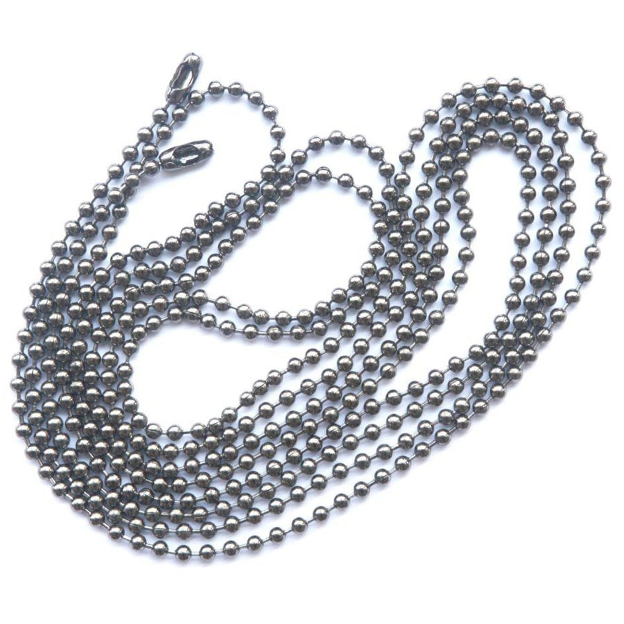 Harbor Breeze 72-in Dark Chrome Metal Pull Chain