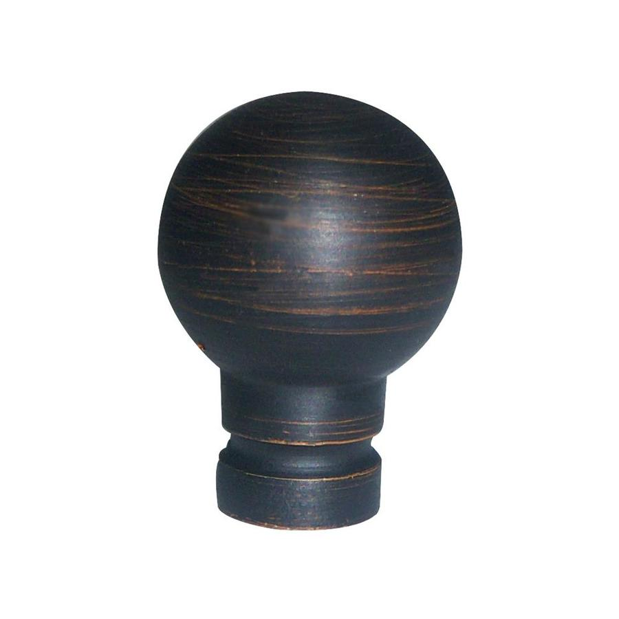Portfolio Aged Bronze Lamp Finial At Lowes Com