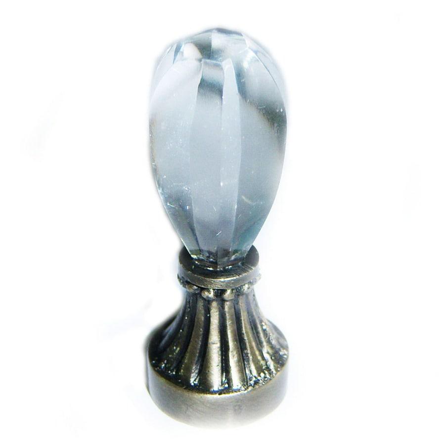 Portfolio Antique Brass Lamp Finial