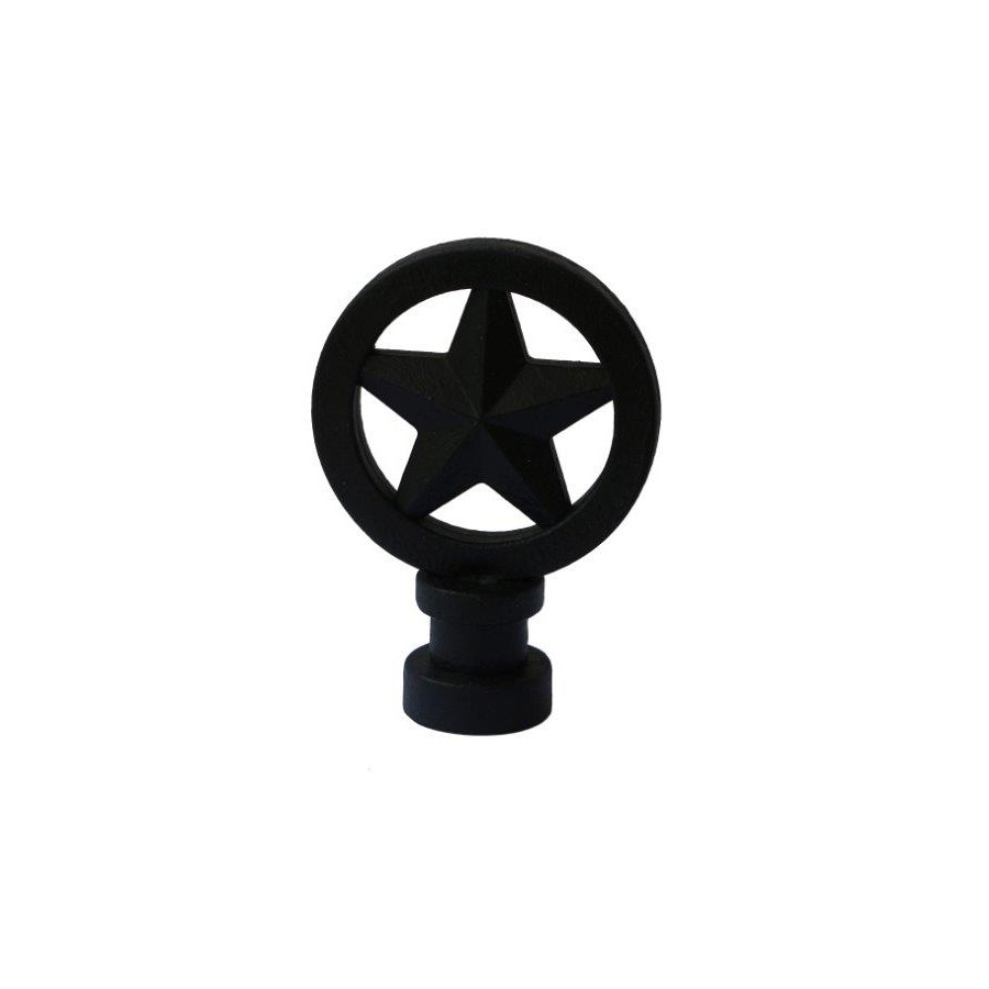 Portfolio 2.76-in L x 2-in dia Bronze Light Cap and Finial Kit