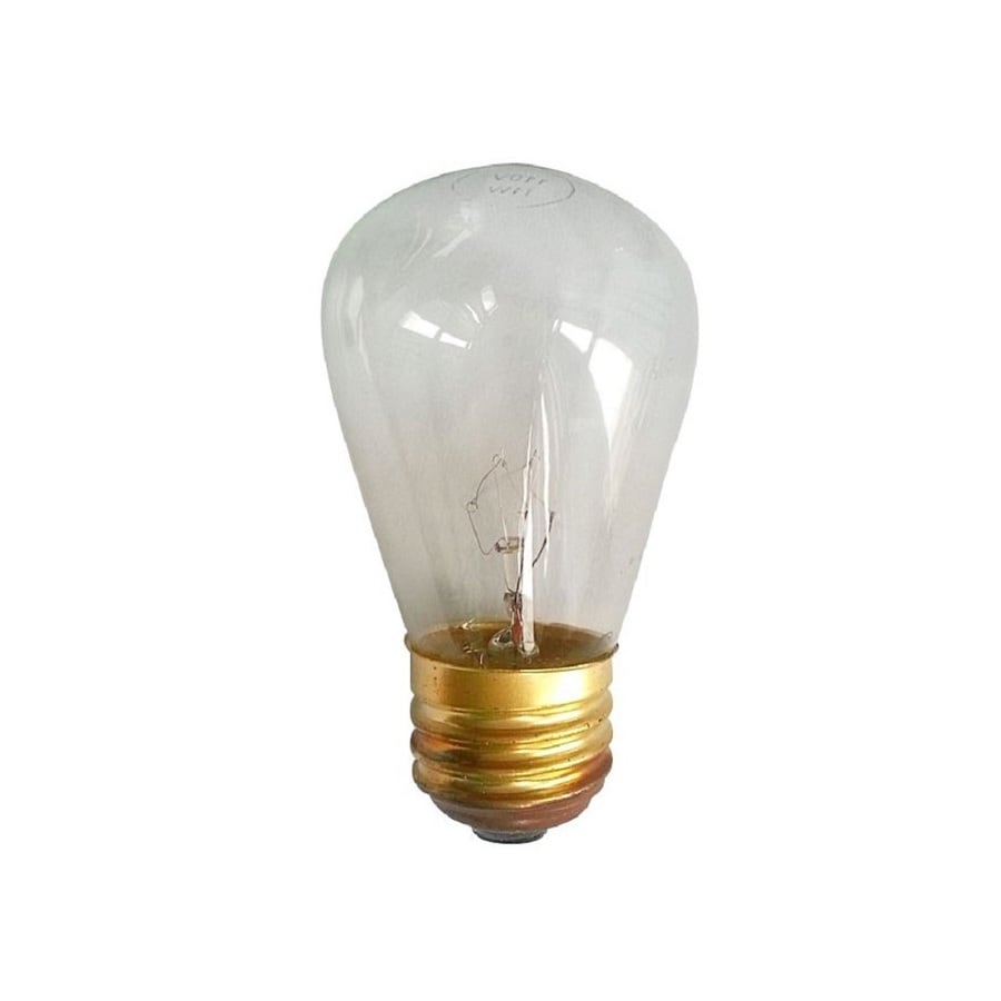 Shop Portfolio Indoor Outdoor White Incandescent Edison String Light Bulbs At