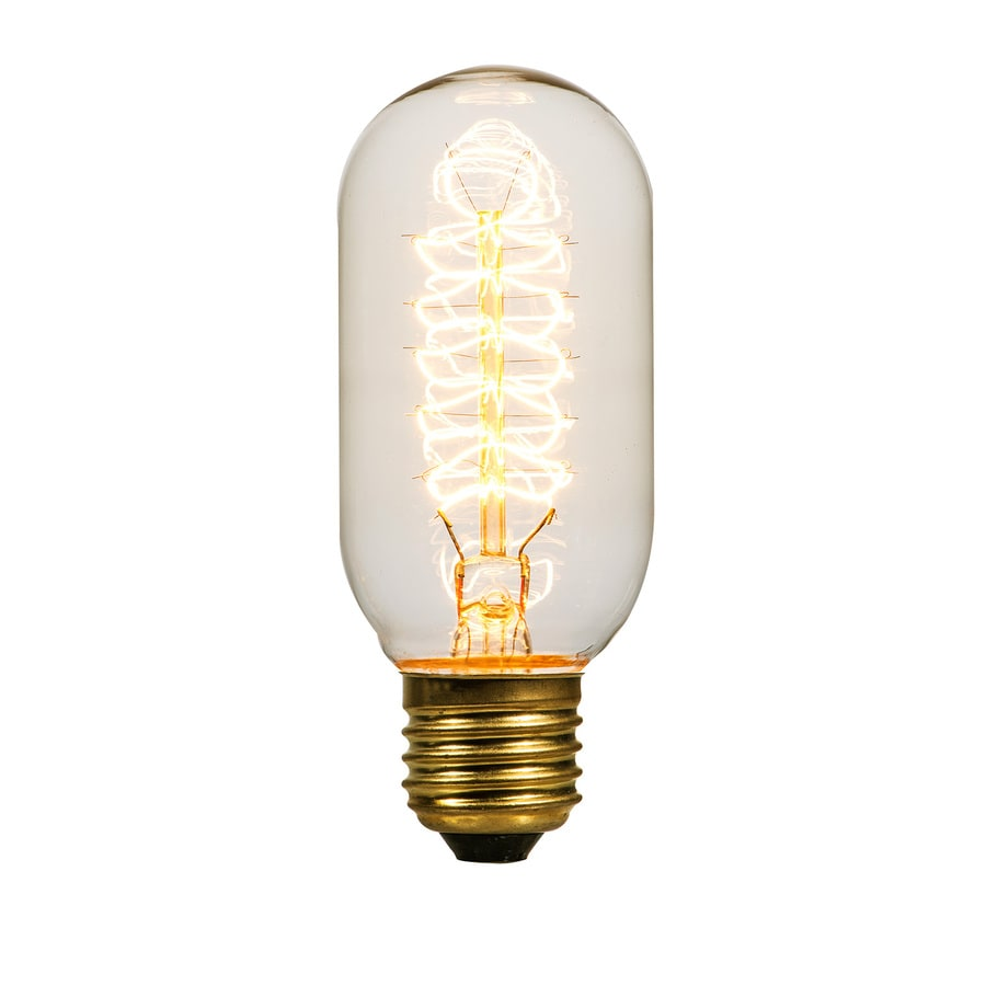 Shop Litex Vintage 40 Watt Indoor Dimmable Warm White Vintage Incandescent Decorative Light Bulb