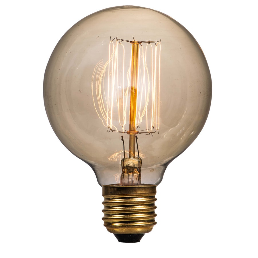Litex Vintage 40 Watt for Indoor or Enclosed Outdoor Dimmable Warm White Vintage Incandescent Decorative Light Bulb