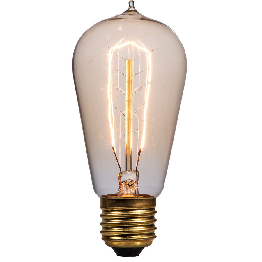 Shop Litex Vintage 40 Watt For Indoor Dimmable Warm White St18 Vintage Incandescent Decorative