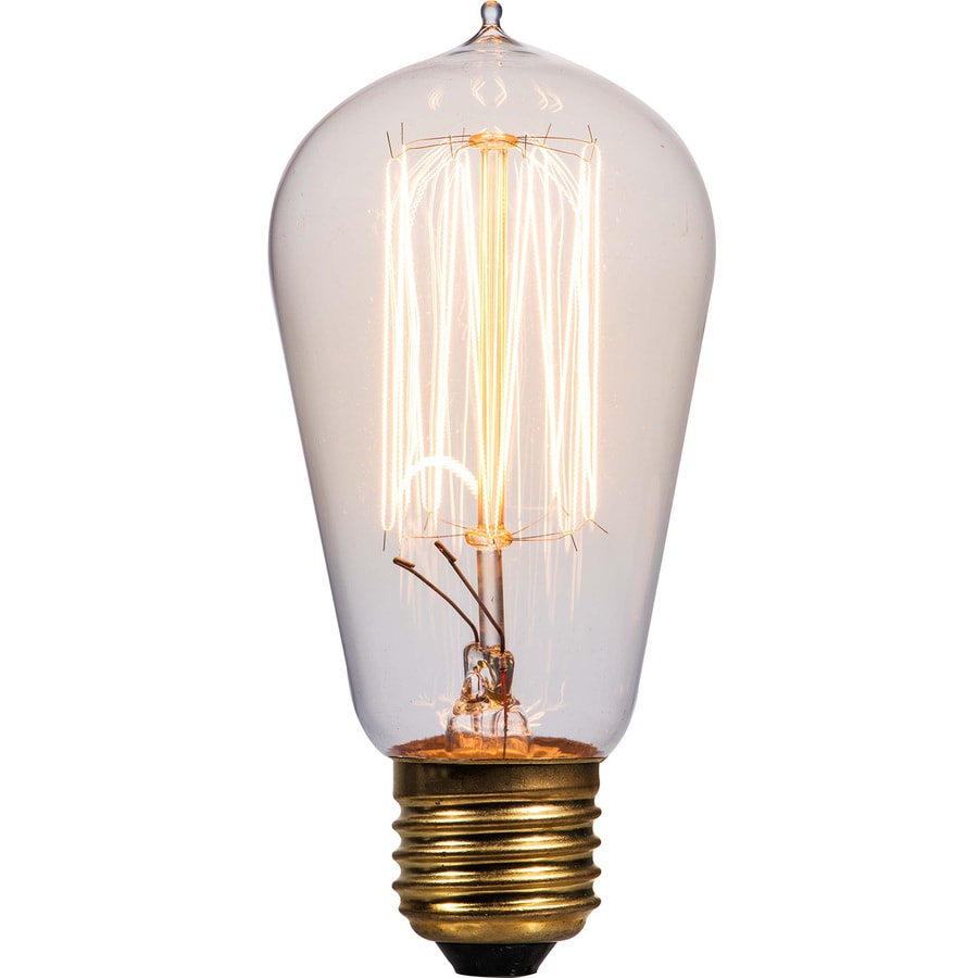 Litex Vintage 60 Watt Dimmable St18 Vintage Decorative Incandescent