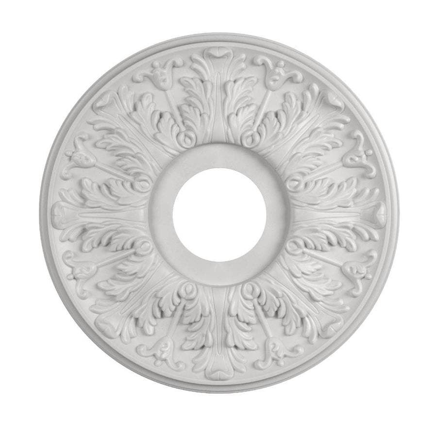 Shop ceiling medallions rings at lowes portfolio 1588 in x 1588 in composite ceiling medallion arubaitofo Images