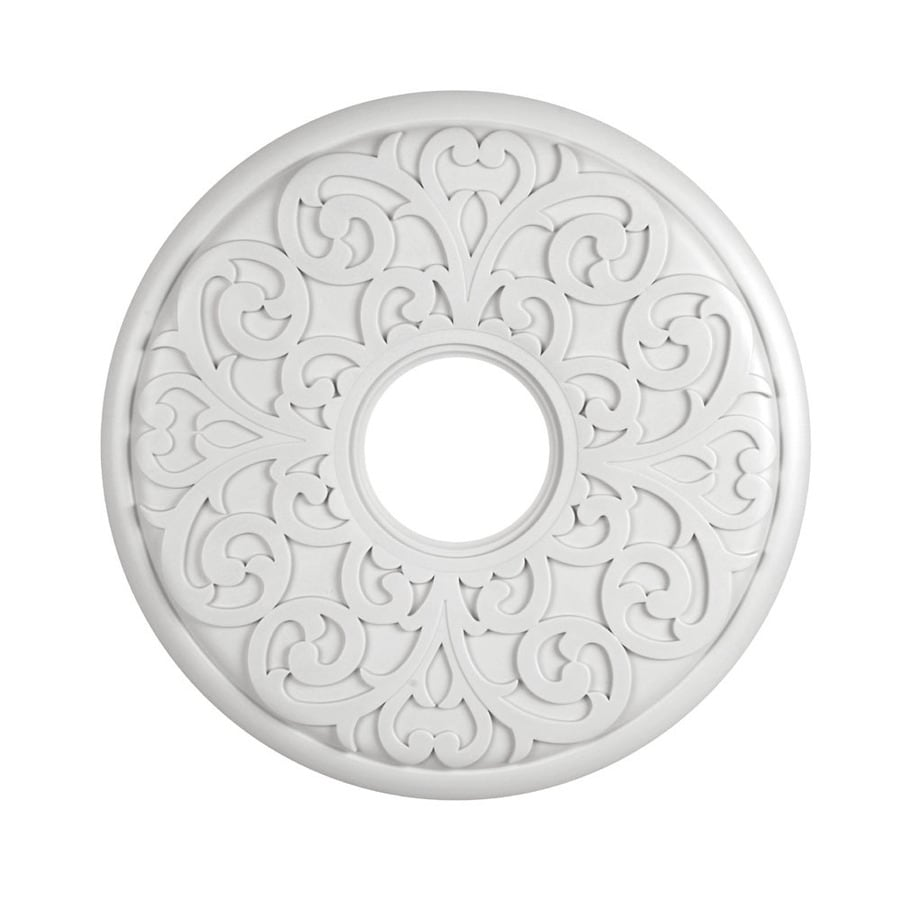 Portfolio 16.25-in x 16.25-in Composite Ceiling Medallion