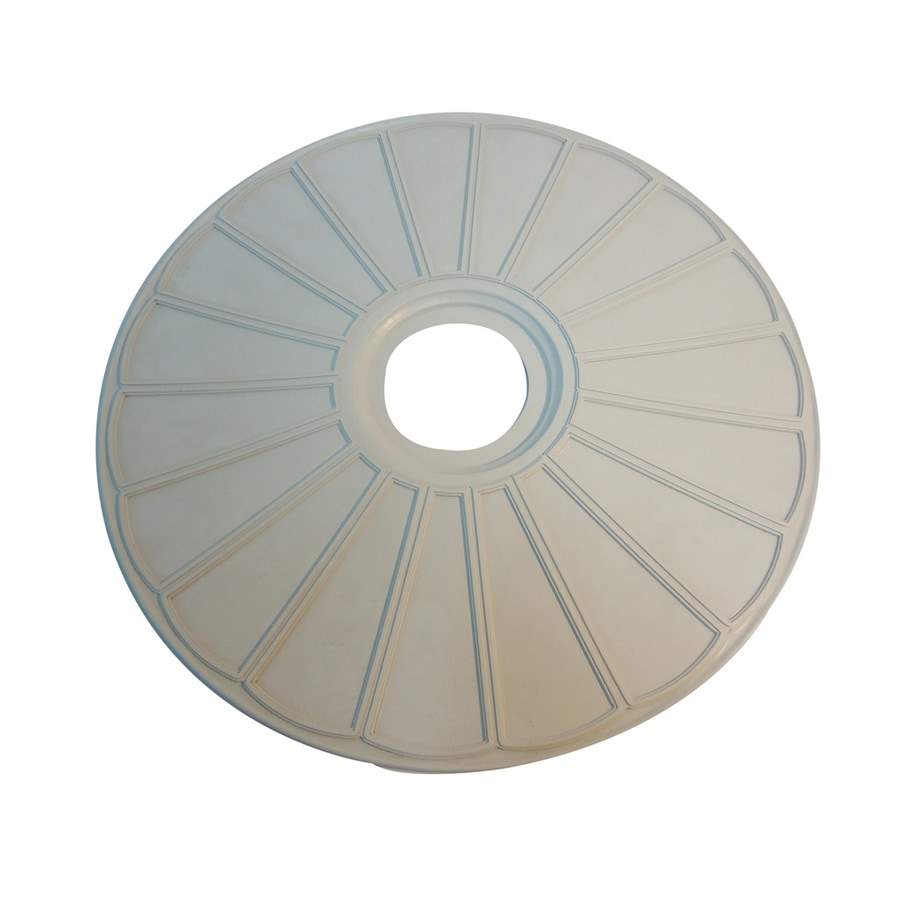 Portfolio 20-in x 20-in Composite Ceiling Medallion