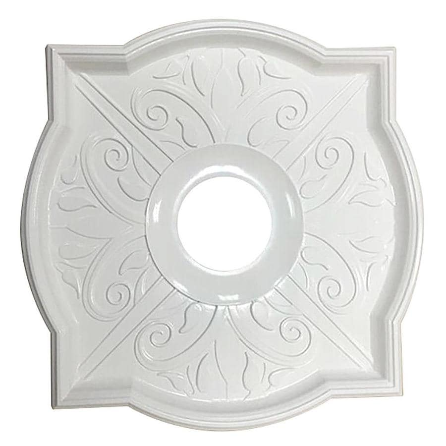 Portfolio 17.88-in x 17.88-in Composite Ceiling Medallion