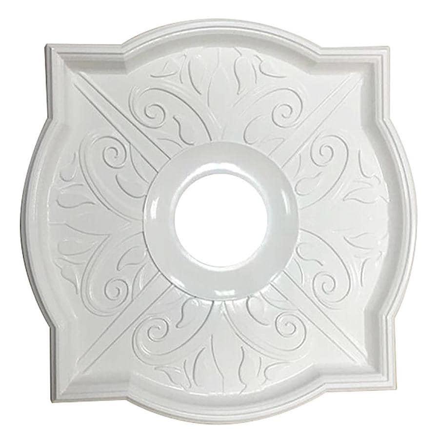 Portfolio 17.88-in x 17.88-in Composite Ceiling Medallion at Lowes.com