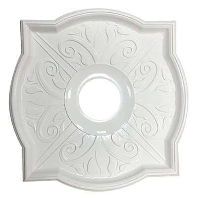 White Composite Ceiling Medallion