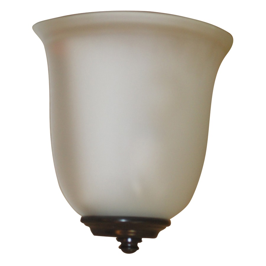 High Quality Portfolio 8.5 In W 1 Light Bronze Pocket Battery Operated Operated LED Wall  Sconce