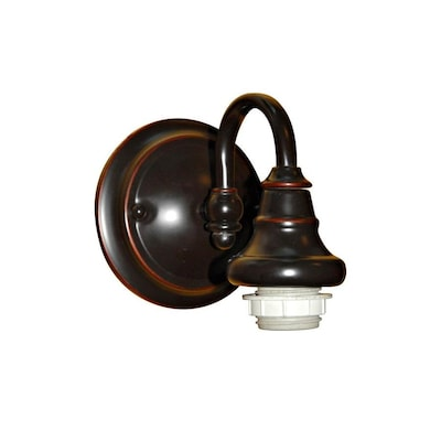 6 37 In W 1 Light Bronze Wall Sconce