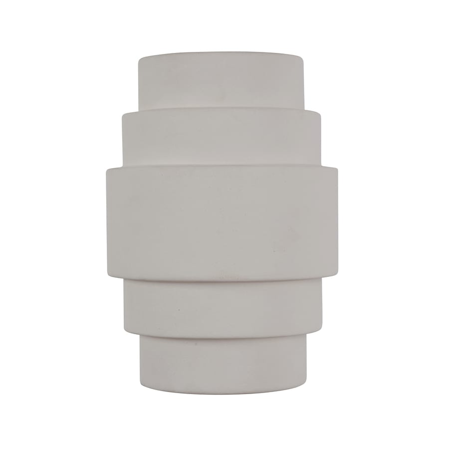 Portfolio 12-in H White Outdoor Wall Light