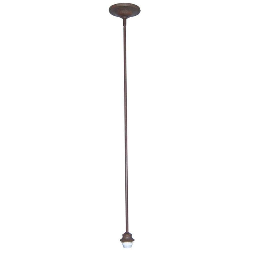 Portfolio 5.5-in Bronze Mini Pendant