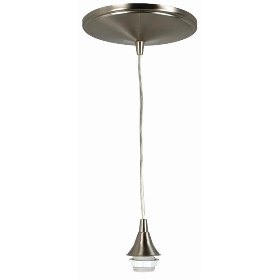shop portfolio polished nickel pendant light conversion kits at