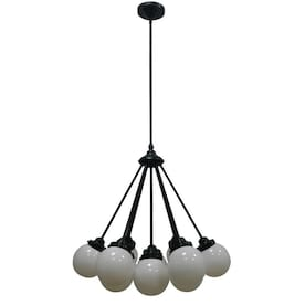 allen + roth Webner 13-Light Bronze Modern/Contemporary Chandelier