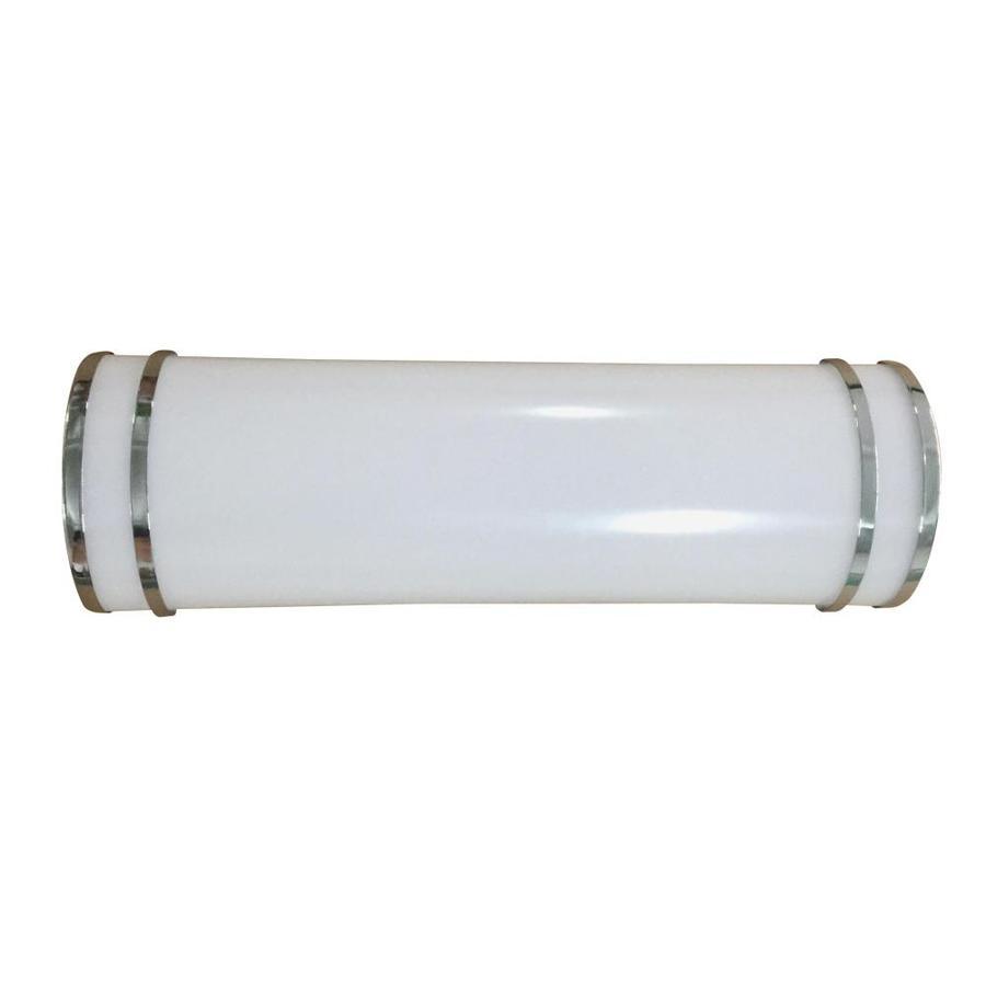 Allen Roth Lorelei 1 Light 18 In Chrome Cylinder Led