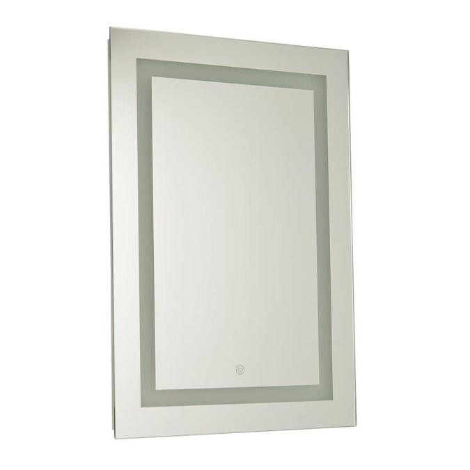 Mirror Rectangular Frameless Lighted