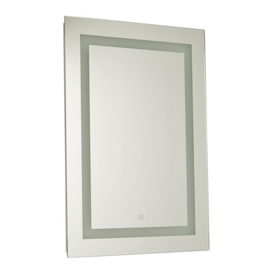 Mckenna 19 68 In Mirror Rectangular Frameless Lighted Led Bathroom